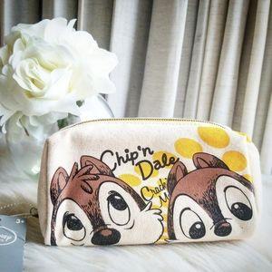Disney Japan Chip'n Dale Canvas Pouch